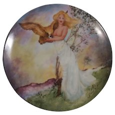 Edwin M. Knowles The Four Ancient Elements Plate Air