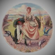 Cinderella First Issue Porcelaines Limoges-Turgot Collector Plate