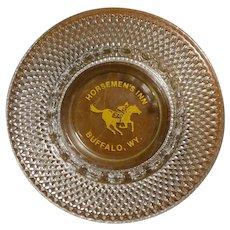 Vintage Ashtray HORSEMAN'S INN Buffalo, WY
