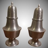 Woodbury Pewterers Salt & Pepper Shakers