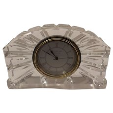 Waterford Ireland Crystal Clock Free Shipping