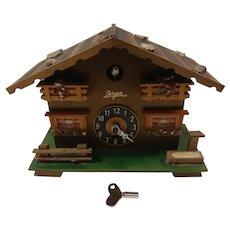Ferger German Key Wound Bellows Clock