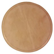 """Round White Marble 12"""" Cheese Cutting Board"""