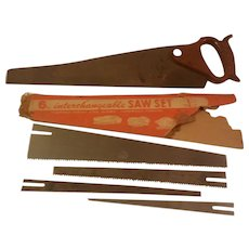 G. L. Interchangeable Saw with Five Blades