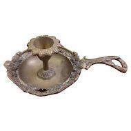 Brass Chamberstick Candleholder