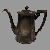 Sale Reed & Barton Silver Soldered Teapot