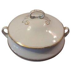 Homer Laughlin Covered Cassarole Serving Dish Niagara