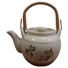 Sale Japanese Ceramic Painted Teapot