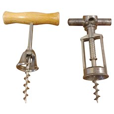 Vintage Wine Corkscrew Opener Italy and Germany