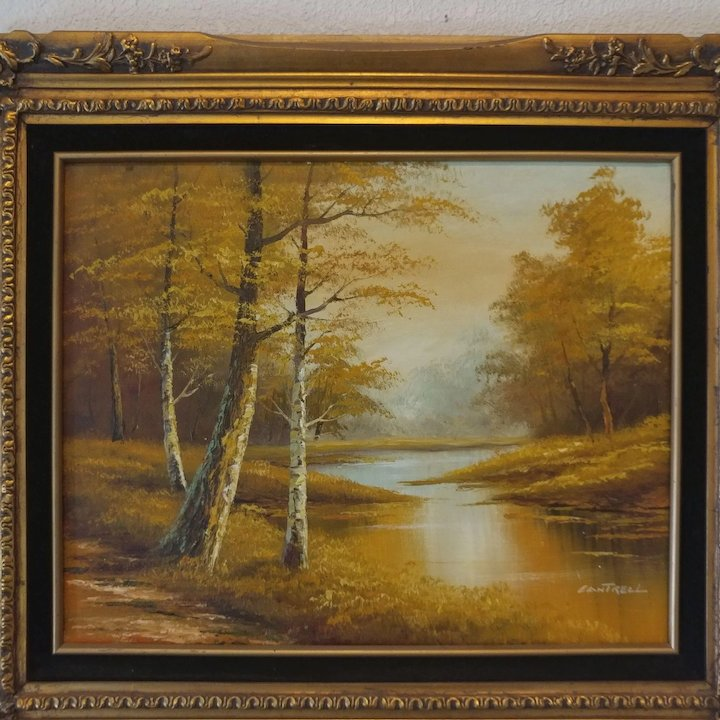 Phillip Cantrell Landscape Framed Oil Painting : Second Time Around ...