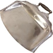 Forbes Silver Co Quadruple Plate Crumb Tray