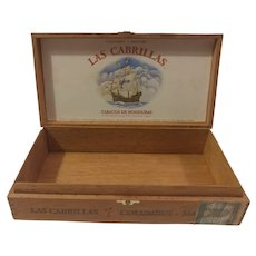 Las Cabrillas Cigar Box