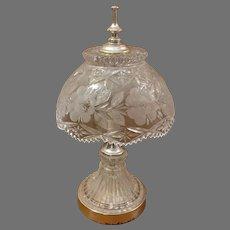 Clearance Sale Cut Glass Sawtooth Crystal Lamp