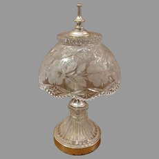 Clearance Sale Cut Glass Sawtooth Crystal Lamp