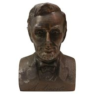 Banthrico Cast Metal Lincoln Bank