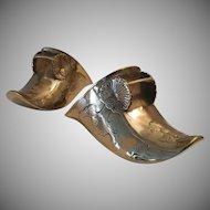 Antique Brass Conquistador Stirrup Shoes