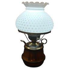 Brass Kettle Desk Lamp