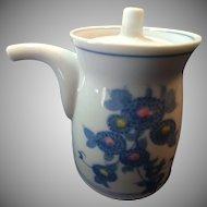 Set of 2 Personal Porcelain Sake or Tea Servers