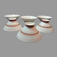Made in Japan Set of 6 Porcelain Soup or Rice Bowls