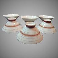 Made in Japan Set of 6 Porcelain Soup or Rice Bowls