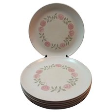Vernon Ware Rosa a Day Dinner Plate