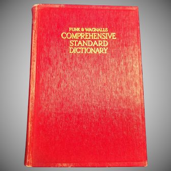 Funk & Wagnalls Comprehensive Standard Dictionary