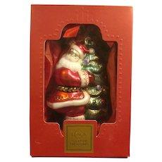 Lenox Santa's Family Tree Santa Claus Christmas Ornament
