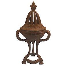 Vintage Made in Japan Brass / Bronze Incense Burner