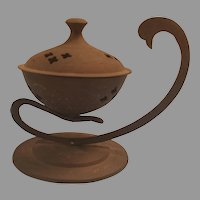 Brass or Bronze Incense Burner Made in India