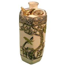 Whistling Porcelain Sake Decanter Pot with Moriaga Detail