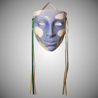 Claudia Cohen 1980 Cast of Thousands Ceramic Mask