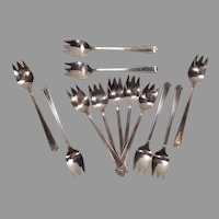 Set of 13 1847 Rogers Bros Ice Cream Spoons / Forks