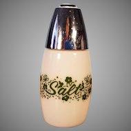 Vintage Corelle Crazy Daisy Spring Blossom Milk White Salt Shaker
