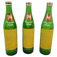 John Wooden UCLA Bruins Commemorative 7up Bottle