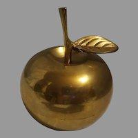 Brass Apple Teacher's School Bell