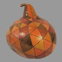 African Painted Gourd