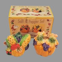 Rite Aid Fall Harvest Salt and Pepper Shakers