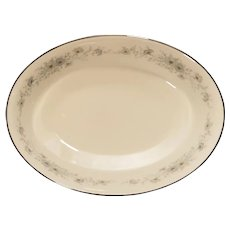 "Noritake 6716 Iverness Porcelain 9 1/2"" Oval Serving Vegetable Bowl"