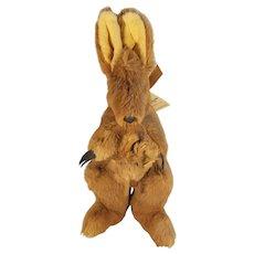 S & J Ferguson Pty Ltd Australia Stuffed Kangaroo and Joey in Pouch