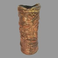 Barry Huggett Downs UK Glaze Stoneware Pottery Vase
