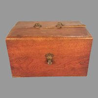 Wood Dry Cell Battery Box  H. J. Milburn & Co.