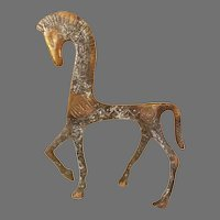 Frederic Weinberg Style Etruscan Horse Sculpture