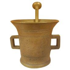 Bronze / Brass Mortar and Pestle