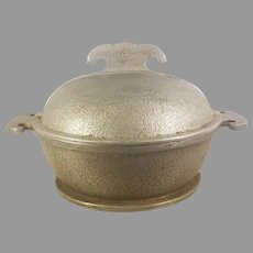 Guardian Service Hammered Aluminum Small Roaster Pot