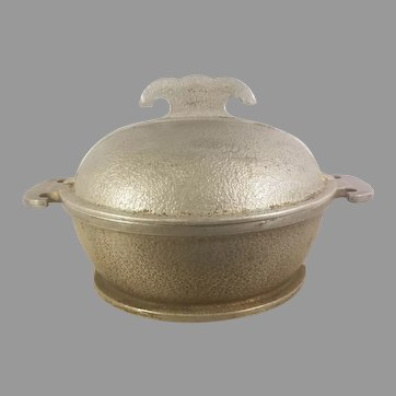 Guardian Service Hammered Aluminum Small Roaster Pot