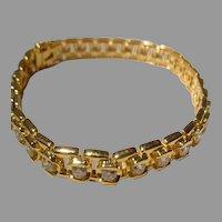 Exquisitely Fine Diamond Tennis Bracelet 18K