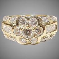 Harmony Band of Diamonds 18K Y-Gold - Timeless Vintage