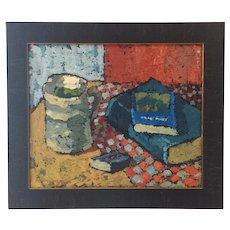 Post-Impressionist Still Life by Gustaf Carlsson (1912-1991)