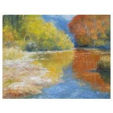 Vibrant Autumn Scene by Bryan Roberts