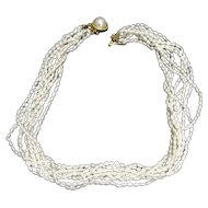 Lovely Seed Pearl (Keshi Pearl) Necklace